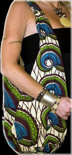 Mali - Gorgeous costumisable dashiki african bag