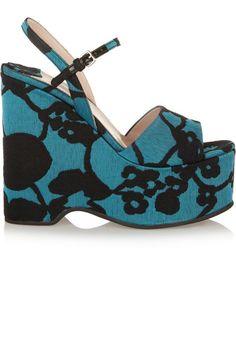 Miu Miu shoes, $795, net-a-porter.com