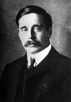 H.G. Wells (September 21, 1866 - August 13, 1946) British writer (the book 'The War of the Worlds').
