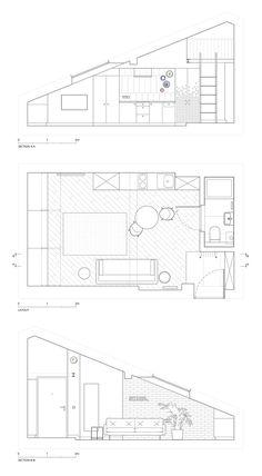 Unique Small Apartment Floor Plan