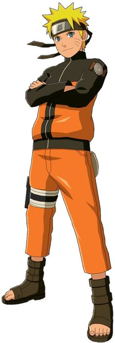 Naruto Uzumaki - He may have been annoying as a kid but I find myself actually liking him in Shippuden
