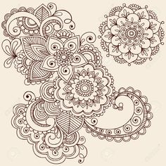 6807572-Hand-Drawn-Intricate-Abstract-Flowers-and-Mandala-Mehndi-Henna--Stock-Photo.jpg (1300×1300)