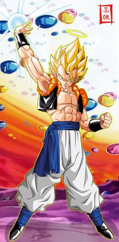 The Supreme Warrior Gogeta! My fav fusion. Ain't no Potara's bihhhh! Lol
