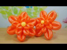 016 Balloon Figure with Mickey Foil Balloon (미키마우스 포일풍선을 활용한 풍선작품) - YouTube