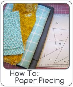 How to Paper Piecing