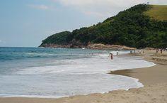 Santiago Beach - São Sebastião, SP, Brazil.