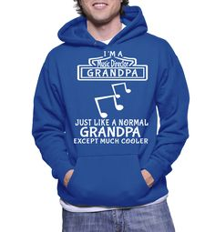 I'm A Music Director Grandpa Just Like A Normal Grandpa Except Much Cooler Hoodie