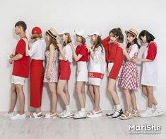 마리쉬♥패션 트렌드북! Korea Fashion, Vogue Fashion, Cute Fashion, Asian Fashion, Daily Fashion, Girl Fashion, Fashion Looks, Fashion Outfits, Preppy Style