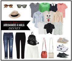 Arrumando a mala para a Disney - Estilo Meu