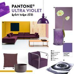 Ultra Violet, Pantone, House, Furniture, Home Decor, Decoration Home, Home, Room Decor, Haus
