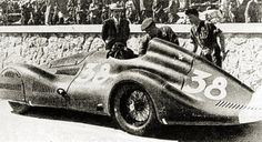 1939 Maserati Tipo 4CL 1500 Streamliner Tripoli Grand Prix, 1939