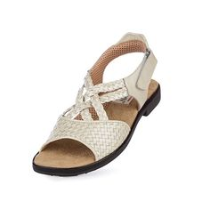 6c8728e4f8dc Aerogreen - Salerno RS 1087 Pearl Women s Golf Sandals Womens Golf Shoes