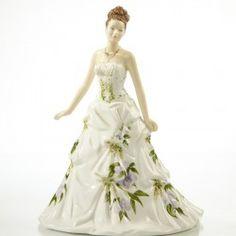 Fine Bone China Figurine - Jessica