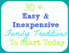 Easy Inexpensive Family Traditions to Start Today! Traditions To Start, Family Traditions, Christmas Traditions, Christmas Eve, Family Home Evening, Family Night, Family Love, Holiday Fun, Holiday Ideas
