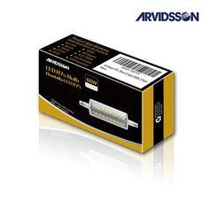 ARVIDSSON J Type Bulb LED R7s 78mm 6W 660Lm [Max 701Lm] 3000K Warm