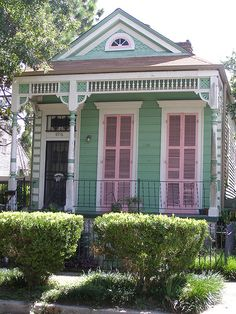 Happy House (by Karen Apricot New Orleans)  New Orleans, Louisiana, USA I want to live here with Sookie!