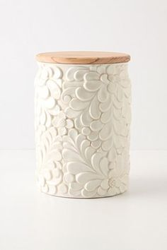 Verdant Canister - If I were to ever keep a cookie jar, this would be it.
