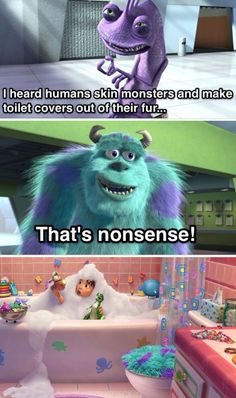 Lol haha funny pics / pictures / Toy Story 3 / Monsters Inc / Disney / Humor / Movies