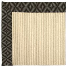 Capel Zoe Machine Tufted Magma/Brown Area Rug Rug Size: 3' x 5'
