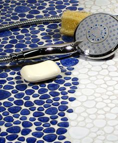 This mosaic tile is ideal for baths, spas, kitchens or pool trim. The low water absorption makes it frost resistant for outdoor use. The glaze makes the surface marginally skid resistant, which makes it great for indoor flooring.