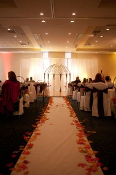 Wedding Ceremony At The Grove Hotel