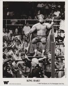 Bobby Heenan and King Haku.
