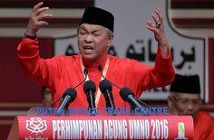 Deputy Prime Minister Datuk Seri Ahmad Zahid Hamidi giving his winding-up speech at the Putra World Trade Centre, December 3, 2016. ― Bernama pic