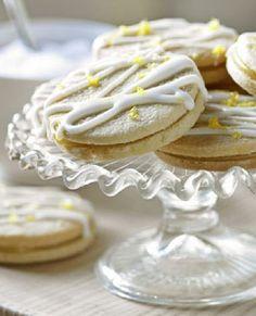 Low FODMAP Recipe and Gluten Free Recipe -  Lemon Cookies