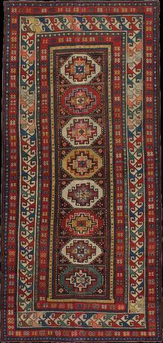 Caucasian Kazak rug, 1920