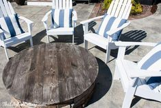 The Dos and Donts of a Fire Pit Table Top The Do's and Don'ts of a Fire Pit Table Top The Lilypad Cottage The post The Dos and Donts of a Fire Pit Table Top appeared first on Outdoor Diy. Fire Pit Table Top, Gas Fire Table, Fire Pit Area, Diy Fire Pit, Fire Pit Backyard, Backyard Patio, Fire Pit Furniture, Outdoor Furniture Sets, Furniture Ideas