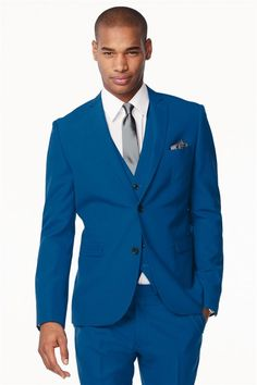 The Electric Blue Suit! | wedding stuff | Pinterest | Electric ...