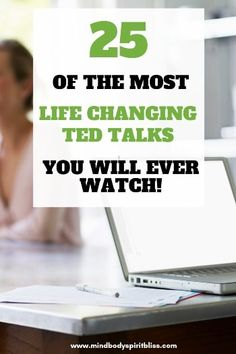 There's nothing quite as inspiring and motivating as a good TED Talk and these are some of the most life changing TED Talks you will ever watch. Check it out now and pin it for future reference! Self Development Books, Personal Development, Best Ted Talks, Mel Robbins, Secret To Success, Positive Mindset, Motivate Yourself, Amazing Quotes, You Changed