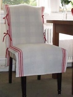 Slipcovers for chairs, Kitchen chair covers, Dining chair slipcovers, Dining . Chair Back Covers, Dining Room Chair Covers, Seat Covers For Chairs, Living Room Chairs, Chair Cover Diy, Furniture Slipcovers, Dining Chair Slipcovers, Furniture Covers, Diy Furniture