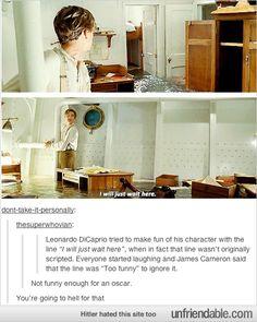 Poor Leo hahahahahaha =(