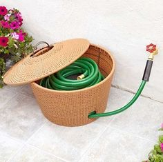 Garden Hose Storage Solutions – Take care of your outdoor gear - Decoration 2