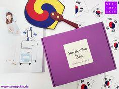 NEU bei +See My Skin ~ Compliments at sight! 💜 Die neue See My Skin Box ##KBeautyHoliday ist da! 😊 Lassen Sie sich überraschen und erhalten Sie die li... - Koreawelle - Google+