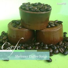 Coffee soap Coffee Soap, Pudding, Desserts, Food, Tailgate Desserts, Meal, Deserts, Essen, Puddings
