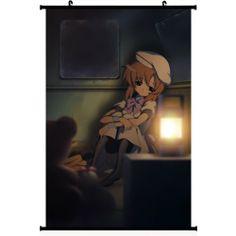 Higurashi When They Cry Anime Wall Scroll Poster Ryuuguu Rena(16''*24'') Support Customized