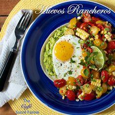 The Café Sucré Farine: Huevos Rancheros, a Fabulous South of the Border Delight!
