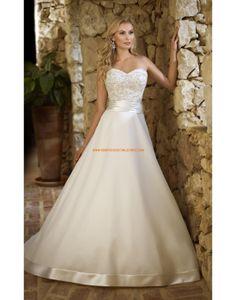 Robe de mariée sirène mousseline application laçage  robes de ...