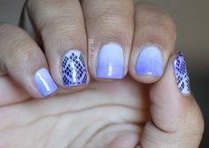 Purple Gradient Snakeskin