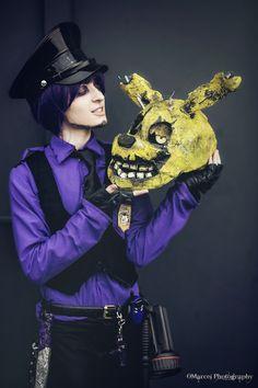 We are the same - Purple guy FNAF cosplay by AlicexLiddell.deviantart.com on @DeviantArt