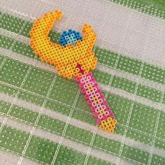 Instagram media by perlerbeadjake - One more to end the #SailorMoon series for today. #Perler #perlerbeads