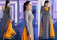 Another shot of the ever so chic actress Regina Cassandra in our one-sided Ikat wrap and mustard maxi for a promotion in hyderabad. We love how stylish and flawless she looks here! #reginacassandra #celebstyle #indianfashion #bollywoodfashion #indowestern #fusion #trendy #unconventional #anishavuppalaofficial #hyderabad #fashion #designer #beauty #style #instafashion Styled by @indpat Outfit available at @talashahyderabad