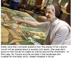 Sylvania Franciscan Sister Shares Faith Through Custom Murals