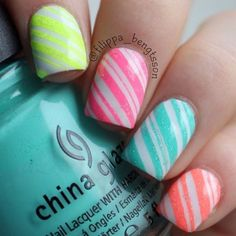 Amazing Nails in Stunning Colors!