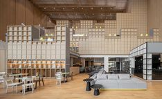 onion builds a huge material library and co-working space for designers in bangkok Architectural Materials, 100 M2, Material Library, Modular Shelving, Famous Buildings, Workspace Design, Coworking Space, Building Materials, Studio