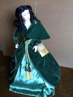 Scarlett O Hara Franklin Heirloom Doll #FranklinHeirloomDoll #DollswithClothingAccessories