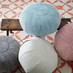 Ottomans, Poufs, Floor Poufs, Upholstered & Modern Ottomans | West Elm