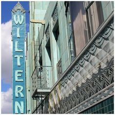 The Wiltern was built in the early 30′s by Los Angeles architecture firm Morgan, Walls, & Clements